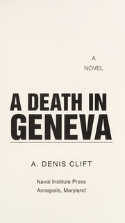 Cover of: A Death in Geneva