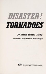 Cover of: Tornadoes