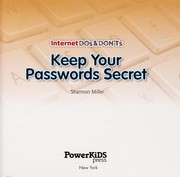 Cover of: Keep your passwords secret | Shannon Miller