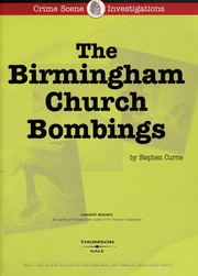 Cover of: The Birmingham church bombings