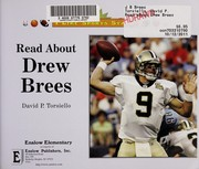 Cover of: Read about Drew Brees | David P. Torsiello