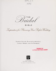 Cover of: Bridal bible