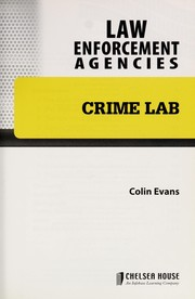 Cover of: Crime lab
