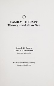 Cover of: Family therapy | Joseph H. Brown