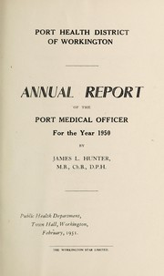 Cover of: [Report 1950] | Workington (England). Port Health District
