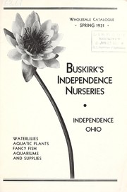 Cover of: Wholesale catalogue, Spring 1931