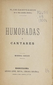 Cover of: Humoradas y cantares