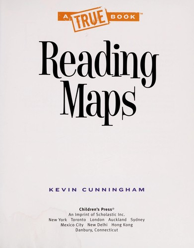 Reading maps by Kevin Cunningham