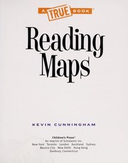 Cover of: Reading maps | Kevin Cunningham