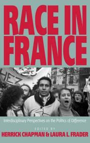Cover of: Race in France |