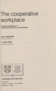 Cover of: The cooperative workplace