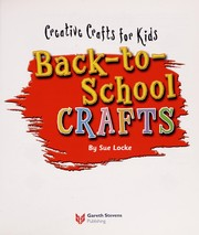 Cover of: Back-to-school crafts