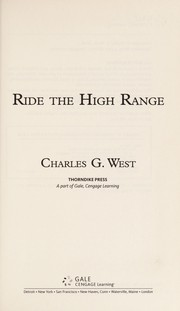 Cover of: Ride the high range