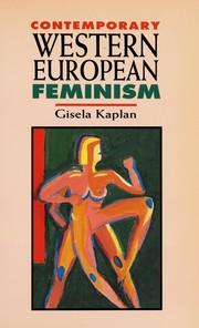 Cover of: Contemporary Western European feminism