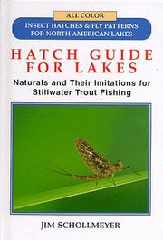 Cover of: Hatch guide for lakes