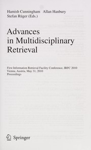 Cover of: Advances in multidisciplinary retrieval