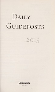 Cover of: Daily Guideposts 2015