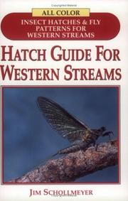 Cover of: Hatch Guide for Western Stream (Hatch Guide)