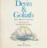 Cover of: Devin & Goliath