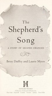 Cover of: The shepherd's song