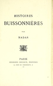 Cover of: Histoires buissonnières