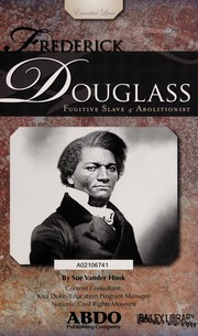 Cover of: Frederick Douglass | Sue Vander Hook