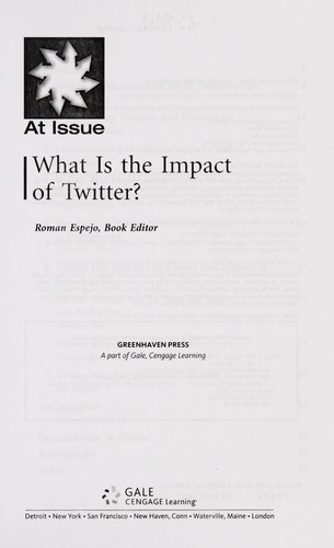 What is the impact of Twitter? by Roman Espejo