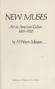 Cover of: New muses
