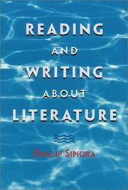 Cover of: Reading and writing about literature | Phillip Siporia