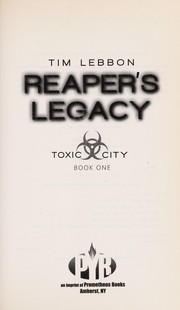 Cover of: Reaper's legacy