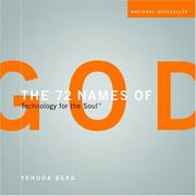 Cover of: The 72 Names of God: The Course | Yehuda Berg