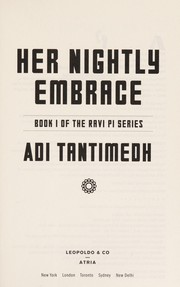 Cover of: Her nightly embrace | Adi Tantimedh