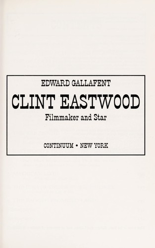 Clint Eastwood by Edward Gallafent