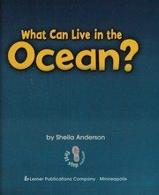 Cover of: What can live in the ocean? | Sheila Anderson