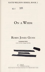 Cover of: On a whim