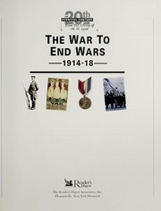 Cover of: The War to end wars, 1914-18. |