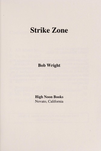 Strike Zone by Bob Wright
