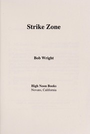 Cover of: Strike Zone | Bob Wright