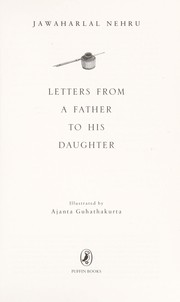 Cover of: Letters from a father to his daughter