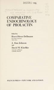 Cover of: Comparative Endocrinology of Prolactin