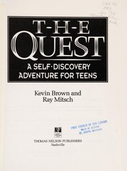 Cover of: The quest | Brown, Kevin.