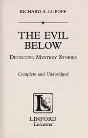 Cover of: The evil below