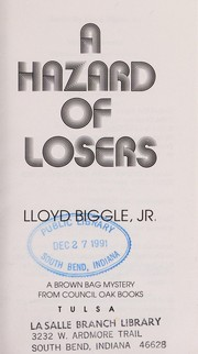 Cover of: A Hazard of Losers