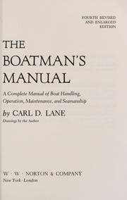 Cover of: The boatman's manual | Carl Daniel Lane