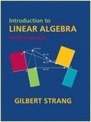 Cover of: Introduction to linear algebra