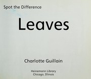 Cover of: Leaves