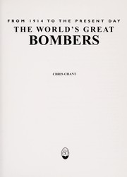 Cover of: The world's great bombers