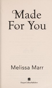 Cover of: Made for you
