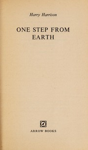 Cover of: One step from earth