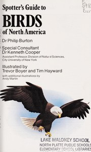 Cover of: Birds of North America | Philip Burton